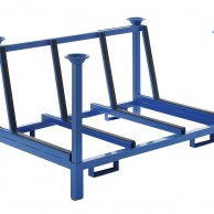 CVL10100 Glass Storage Racks - anti rollover structure