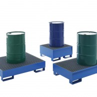 Sump pallets for drums