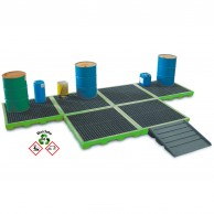 Polyethylene Safety flooring