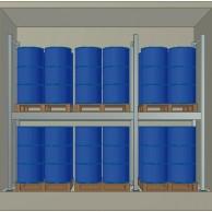 Container Coibentato 24 fusti in verticale