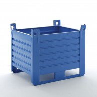 (1500-2000kg) Stacking containers with straight walls