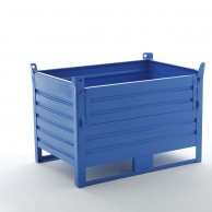 (1000kg) Stacking containers with front opening door