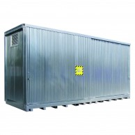 Open-Space Corrugated Sheet Containers
