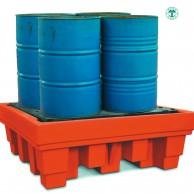 Vasche di raccolta per 4 fusti